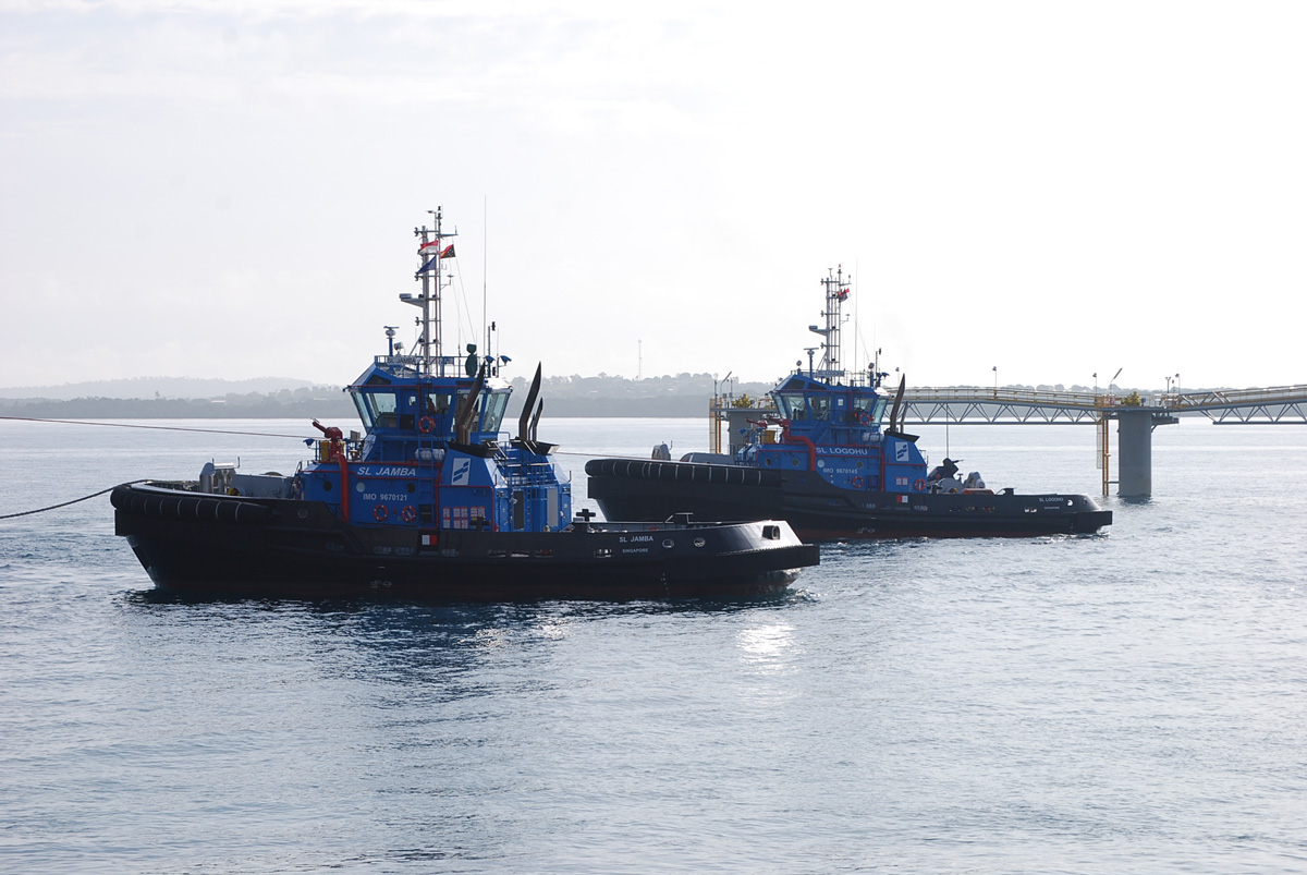 Two ASD Tugboats